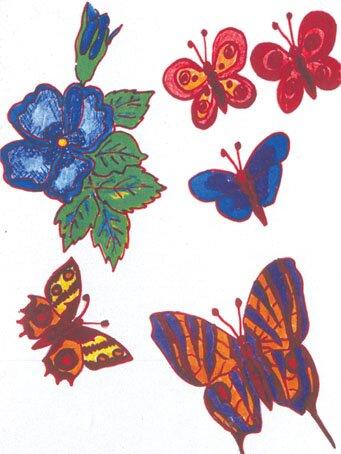 рисунки с изображением одуванчика